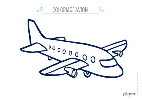 chambre a air voiture coloriage avion momes