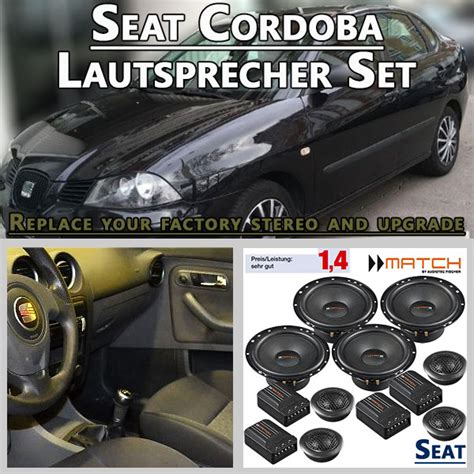 auto lautsprecher set radio adapter lautsprecher und autoradio shop 187 seat