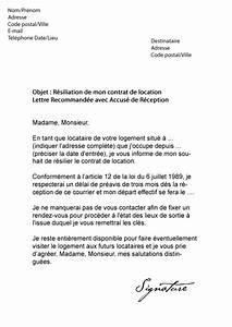 modele lettre resiliation bail 3 mois preavis With lettre preavis appartement non meuble