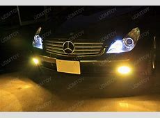 A Nice Upgrade LED Parking Lights on Mercedes CLS 500