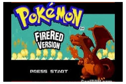 pokemon fire red e descargar para android