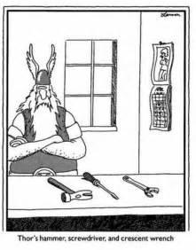 Far Side Cartoons Hammer