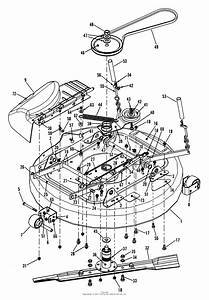 Snapper Hz14330bve 33 U0026quot  14 Hp Ztr Yard Cruiser Series 0 Parts Diagram For 33 U0026quot  Mower Deck Assembly