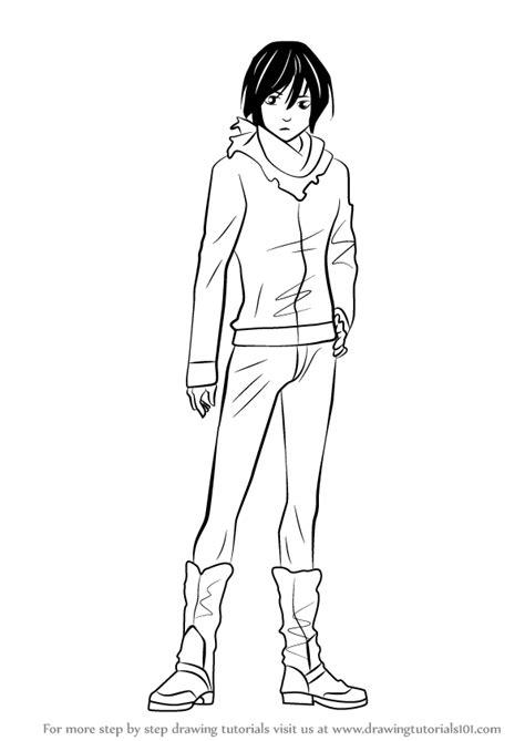 step  step   draw yato  noragami