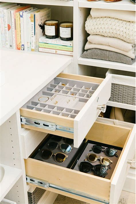 Closet Drawer Organization Ideas by Organization Tips From The Goop Fashion Closet Home