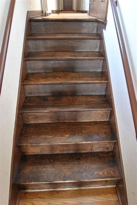 dark walnut stain  pine pine stairs stain dark