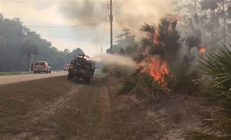 fire put  close  fpl substation  collier county