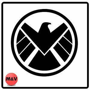 Shield logo wall art, Marvel, Iron Man, Captain America ...