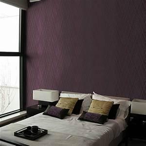Aliexpress.com : Buy Textured 3D Dark Purple Modern ...