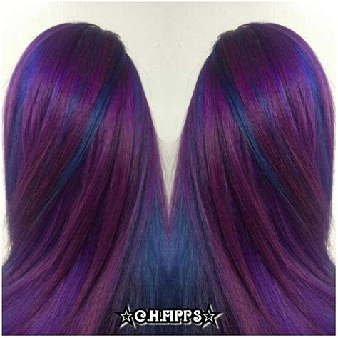 purple blue color 25 best ideas about purple underneath hair on