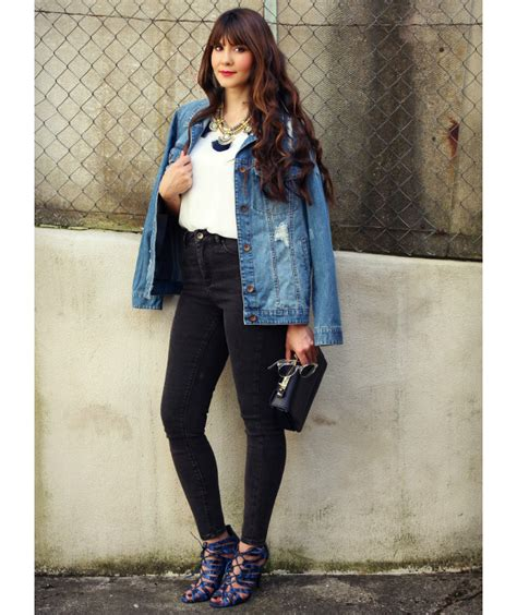 wear  jean jacket   outfit real simple