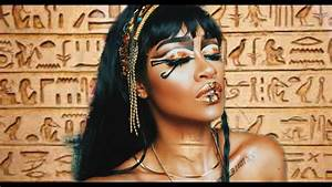 Egyptian Queen   Makeup Tutorial - YouTube