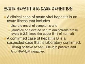 EPIDEMIOLOGY OF HEPATITIS B AND C