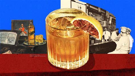 history    fashioned cocktail vinepair