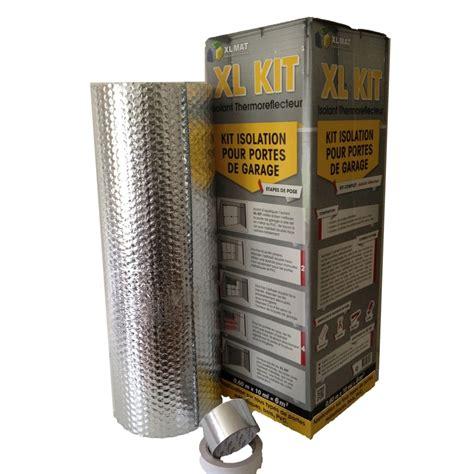 kit isolant porte de garage isolation thermique par l