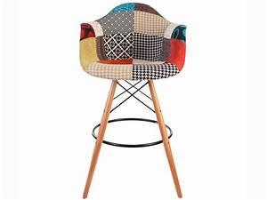 Tabouret De Bar Patchwork : dab bar chair patchwork ~ Melissatoandfro.com Idées de Décoration