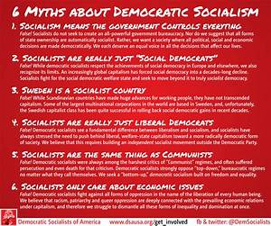 Democratic Socialists USA: Myths About Democratic ...