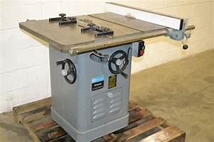 """Rockwell Delta 34-466 10"""" Right Tilt Table Saw / Unisaw"""