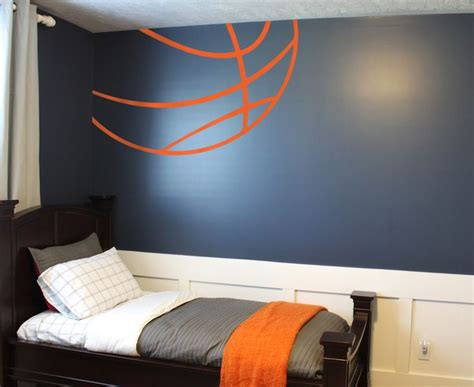 Sports Corner In The Boys Room by Best 25 Basketball Themed Rooms Ideas On
