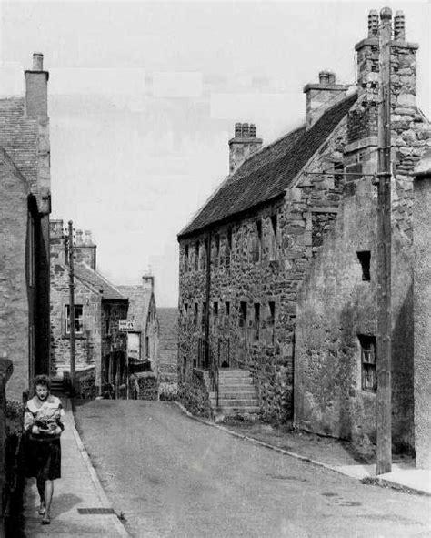 photographs north high street portsoy scotland uk