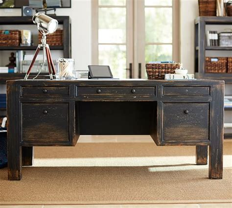 pottery barn office desk dawson desk pottery barn