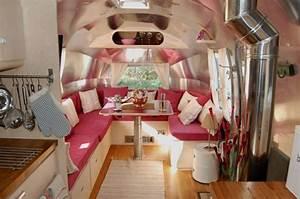Deco Camping Car : int rieur de caravane comment l 39 am nager ~ Preciouscoupons.com Idées de Décoration