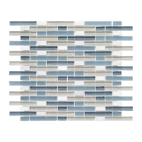 home depot glass tile jeffrey court cyclove 10 875 in x 13 25 in x 8 mm glass