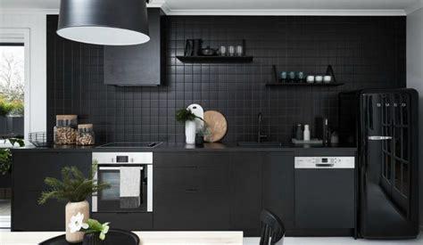 cocinas negras el negro es el nuevo blanco descubre mas