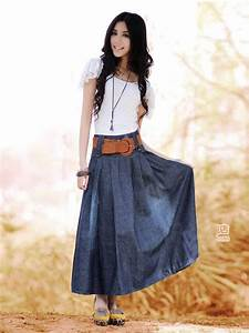 New Fashion Arrival European Style Letter A Shape Pure Color Long Skirt