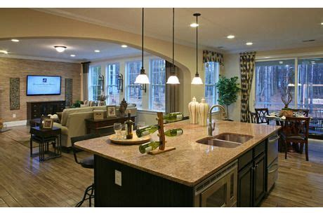 sierra  standard pacific homes  weddington trace preserve collection kitchen remodel home