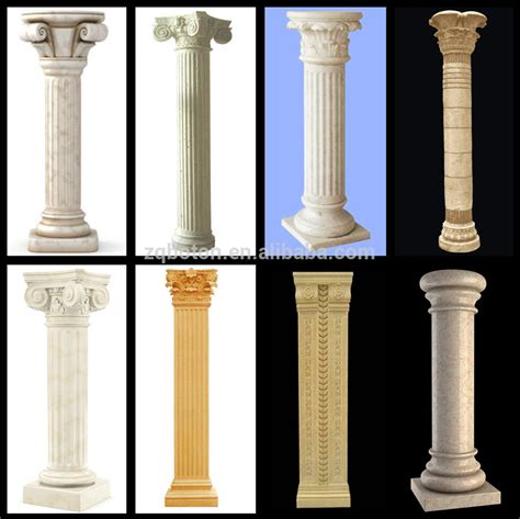 easy installation decorative columns decorative foam
