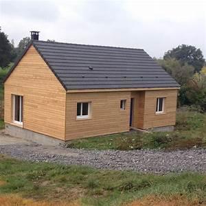 Ossature Bois Maison : maison ossature bois ~ Melissatoandfro.com Idées de Décoration