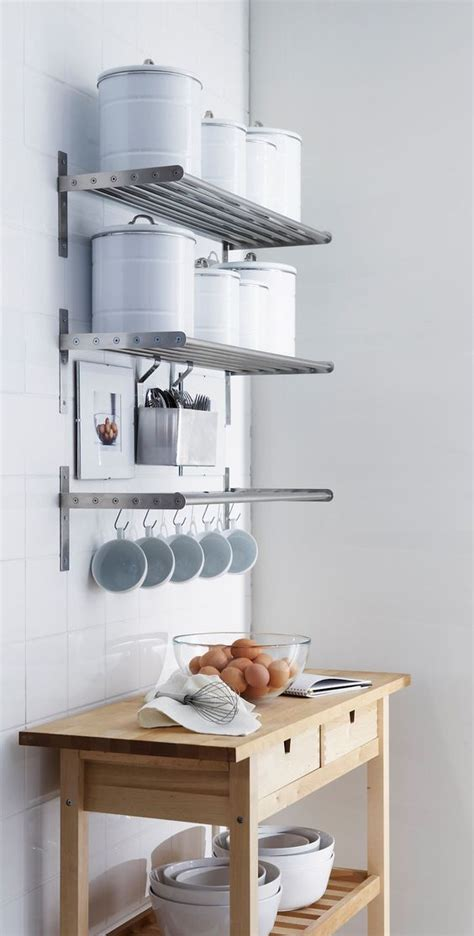 small kitchen wall storage solutions 65 ideas of using open kitchen wall shelves shelterness 8100