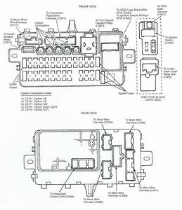 1987 Honda Civic Fuse Box Diagram Wiring Schematic