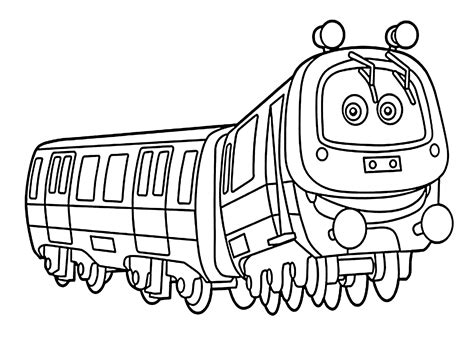 Chuggington Coloring Pages, Emery For Kids Printable Free