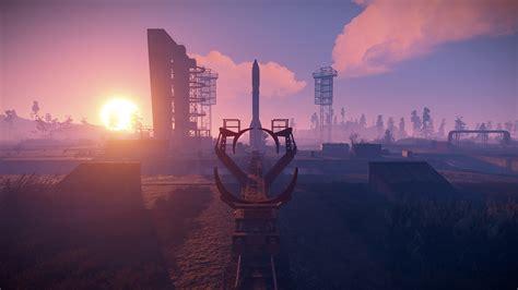 rust building monument
