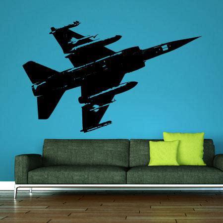 chambre de chasse stickers avion de chasse stickers malin