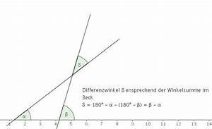 Schnittwinkel Zweier Geraden Berechnen : zahlreich mathematik hausaufgabenhilfe schnittwinkel ~ Themetempest.com Abrechnung