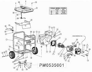 Powermate Formerly Coleman Pm0535001 Parts Diagram For