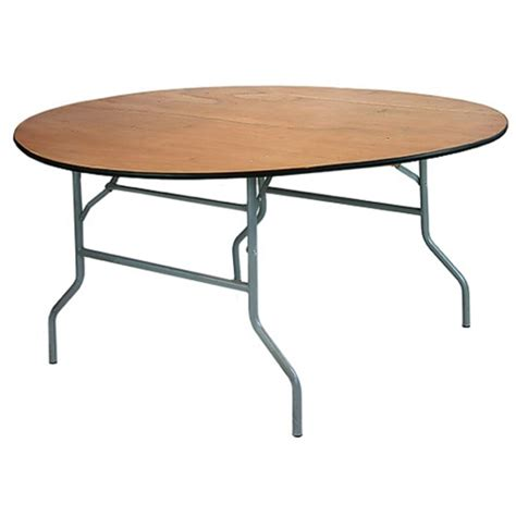 10 ft folding table 10 pack 60 inch 5 ft round wood folding banquet tables