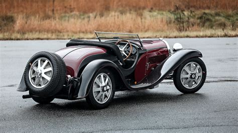 bugatti type 55 roadster will be auctioned in