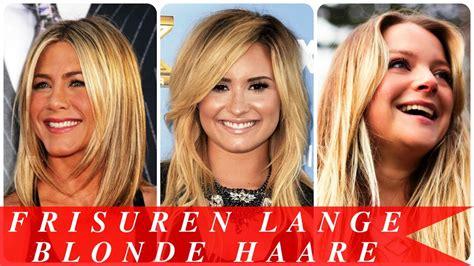 frisuren lange blonde haare youtube