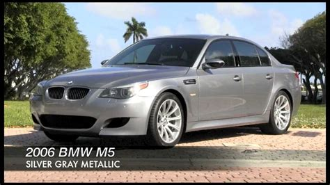 bmw  silver gray metallic autos  palm beach