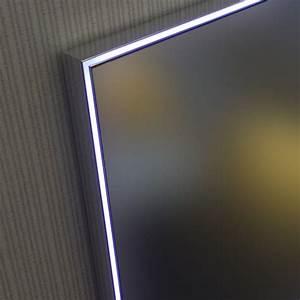 miroir lumineux led salle de bain eclairage led anti buee With miroir salle de bain éclairant