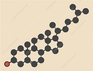 Cholesterol molecule - Stock Image F012/5879 - Science ...
