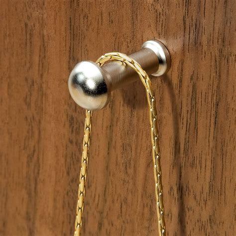 satin nickel hanger  jewelry boxes rockler