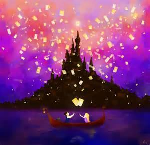 Tangled Rapunzel Lantern Scene