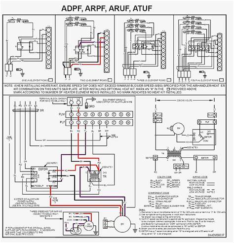 Goodman Aruf Air Handler Wiring Diagram Free