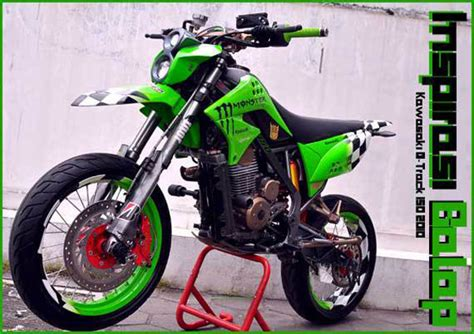 Modifikasi Klx Dtracker by 15 Gambar Modifikasi Kawasaki Klx 150 Dan D Tracker 150