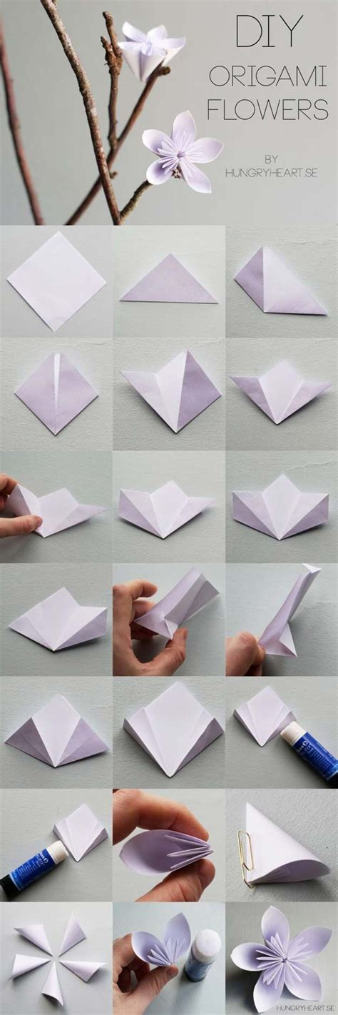 Diy Life Hacks & Crafts  Best Origami Tutorials  Flower